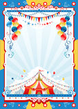 Αφίσα τσίρκων Στοκ φωτογραφία με δικαίωμα ελεύθερης χρήσης