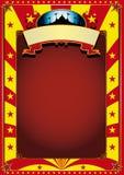 αφίσα τσίρκων Στοκ Φωτογραφία