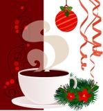 Αφίσα Χριστουγέννων και του νέου έτους Στοκ Εικόνες