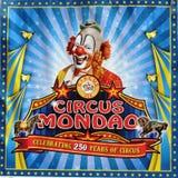 Αφίσα Mondao τσίρκων Στοκ εικόνα με δικαίωμα ελεύθερης χρήσης