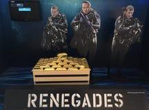 Αφίσα Renegades στη Μπανγκόκ Στοκ Εικόνες