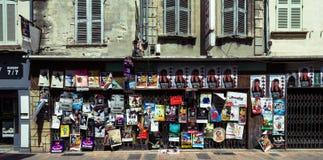 Αφίσες φεστιβάλ θεάτρων Αβινιόν Στοκ φωτογραφία με δικαίωμα ελεύθερης χρήσης