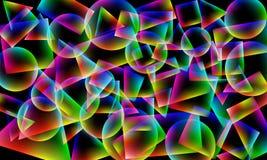 αφαίρεση γεωμετρική Στοκ φωτογραφία με δικαίωμα ελεύθερης χρήσης