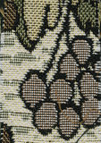 Αφαίρεση για το υπόβαθρο σκοτεινό καφετί ύφασμα με τις floral διακοσμήσεις που γίνονται από τα δασικά φύλλα Στοκ εικόνα με δικαίωμα ελεύθερης χρήσης