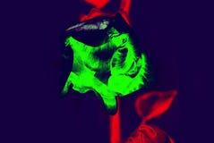 αφαίρεση Λουλούδι διάθεση Στοκ Εικόνες