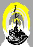 αφαίρεση Περίληψη ζωγραφική εικόνα σύσταση κατασκευασμένος ελεύθερη απεικόνιση δικαιώματος