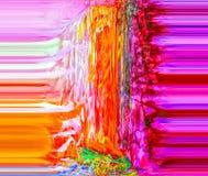 αφαίρεση Περίληψη ζωγραφική εικόνα διανυσματική απεικόνιση