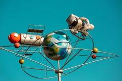 Αφαίρεση στο θέμα του διαστήματος στοκ φωτογραφία με δικαίωμα ελεύθερης χρήσης
