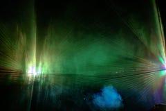 Αφαίρεση των ακτίνων λέιζερ 8 χρώματος Στοκ Εικόνα