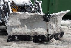 Αφαίρεση χιονιού τρακτέρ Στοκ Εικόνα