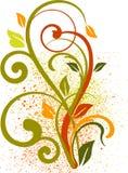 αφαίρεση floral Στοκ εικόνα με δικαίωμα ελεύθερης χρήσης