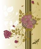 αφαιρέστε την ανασκόπηση floral Στοκ εικόνα με δικαίωμα ελεύθερης χρήσης