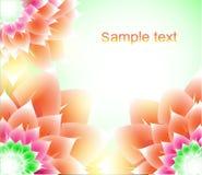 αφαιρέστε την ανασκόπηση floral Στοκ φωτογραφία με δικαίωμα ελεύθερης χρήσης