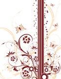 αφαιρέστε την ανασκόπηση floral Στοκ Εικόνες