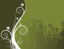 αφαιρέστε την ανασκόπηση floral Απεικόνιση αποθεμάτων