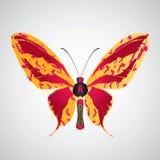 αφαιρέστε την πεταλούδα Στοκ εικόνα με δικαίωμα ελεύθερης χρήσης