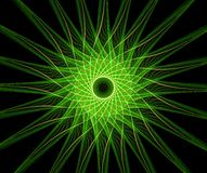 αφαιρέστε το αστέρι de fractal Στοκ Φωτογραφία