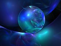 αφαιρέστε το μπλε ανασκό&pi Στοκ εικόνες με δικαίωμα ελεύθερης χρήσης
