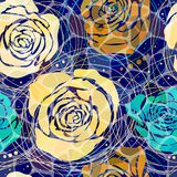αφαιρέστε το floral πρότυπο Στοκ Εικόνες