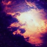 Αφαιρετικό διαστημικό υπόβαθρο Στοκ Φωτογραφία
