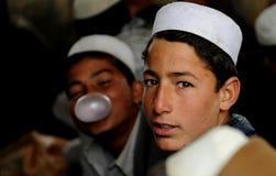 αφγανικοί σπουδαστές στοκ φωτογραφία