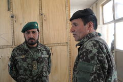 Αφγανικοί στρατιώτες Στοκ εικόνα με δικαίωμα ελεύθερης χρήσης
