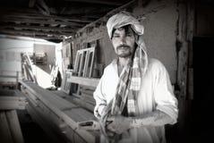 αφγανικός ξυλουργός Στοκ Εικόνα