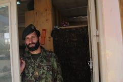 Αφγανικός στρατιώτης Στοκ Φωτογραφίες