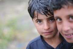 αφγανικό αγόρι Στοκ Εικόνες