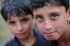 αφγανικό αγόρι Στοκ Εικόνα
