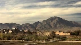 αφγανικό χωριό στοκ εικόνες με δικαίωμα ελεύθερης χρήσης