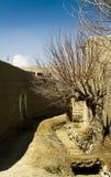 αφγανικό χωριό στοκ φωτογραφία
