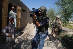 αφγανικό χωριό Στοκ Εικόνες