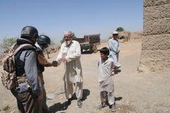 αφγανικό χωριό Στοκ Φωτογραφίες
