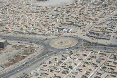 Αφγανιστάν αεροπορικώς Στοκ Φωτογραφία