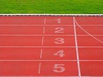 Αφετηρία και γραμμή τερματισμού Στοκ φωτογραφίες με δικαίωμα ελεύθερης χρήσης