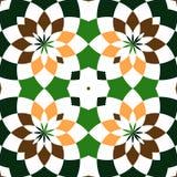 Αφηρημένα άνευ ραφής γεωμετρικά σχέδια Καλειδοσκόπιο άνευ ραφής γεωμετρικό πρότυπο απεικόνιση αποθεμάτων