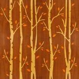 Αφηρημένα δέντρα φθινοπώρου - άνευ ραφής υπόβαθρο - ξύλινη σύσταση Στοκ φωτογραφία με δικαίωμα ελεύθερης χρήσης