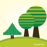 Αφηρημένα δέντρα Στοκ φωτογραφίες με δικαίωμα ελεύθερης χρήσης