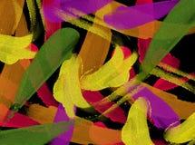 αφηρημένα έργα ζωγραφικής Στοκ εικόνες με δικαίωμα ελεύθερης χρήσης