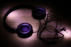 Αφηρημένα ακουστικά Στοκ Φωτογραφίες