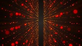Αφηρημένα ακτινοβολώντας αστέρια Ζωηρόχρωμα στοιχεία στο μαύρο υπόβαθρο φιλμ μικρού μήκους