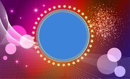 αφηρημένα αστέρια εμβλημάτ&ome Ελεύθερη απεικόνιση δικαιώματος
