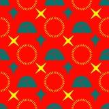 Αφηρημένα αστέρια κύκλων Στοκ φωτογραφία με δικαίωμα ελεύθερης χρήσης