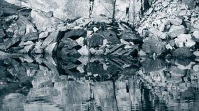 Αφηρημένα λατομείο και νερό Στοκ φωτογραφία με δικαίωμα ελεύθερης χρήσης