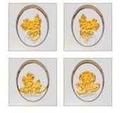αφηρημένα αυγά Πάσχας Στοκ Εικόνες