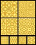 αφηρημένα γεωμετρικά πρότυπα άνευ ραφής ελεύθερη απεικόνιση δικαιώματος