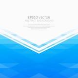 αφηρημένα γεωμετρικά πρότυπα ανασκόπησης Σκιές του μπλε Στοκ Εικόνες