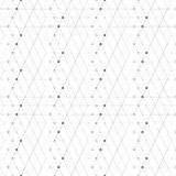 Αφηρημένα γεωμετρικά σημεία σχεδίων στις γραμμές Άνευ ραφής γκρίζα και άσπρη σύσταση υποβάθρου Στοκ εικόνα με δικαίωμα ελεύθερης χρήσης