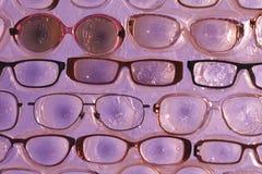 Αφηρημένα γυαλιά υποβάθρου για τα μάτια Στοκ Εικόνα